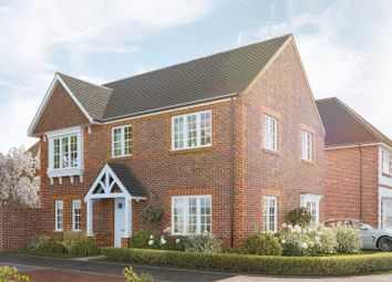 """Thumbnail 4 bedroom detached house for sale in """"The Longstock"""" at Kennedy Meadow, Hungerford"""