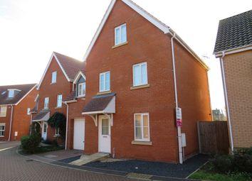 Thumbnail 4 bedroom town house for sale in Mayhew Road, Rendlesham, Woodbridge