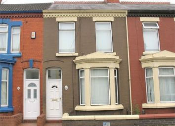 Thumbnail 4 bed terraced house for sale in Seddon Road, Garston, Liverpool, Merseyside