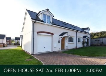 Thumbnail 3 bed semi-detached house for sale in Littlemead Lane, Exmouth, Devon