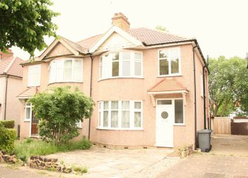 Thumbnail 3 bed semi-detached house for sale in West Way, Edgware
