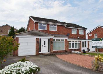 Thumbnail 3 bed semi-detached house for sale in Chesterholm, Sandsfield Park, Carlisle, Cumbria