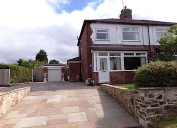 Thumbnail 3 bed semi-detached house for sale in Upper Hibbert Lane, Marple, Cheshire