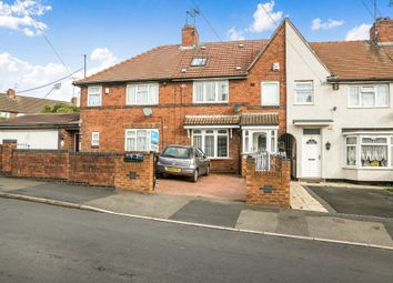 Thumbnail 4 bed terraced house for sale in Albion Road, Sandwell, West Bromwich