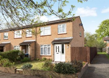 Thumbnail 3 bed end terrace house for sale in North Grove, Chertsey, Surrey