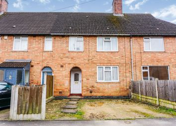 Thumbnail 3 bed town house for sale in Valence Road, Leicester