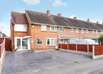 Thumbnail 4 bedroom end terrace house for sale in Creswell Crescent, Bloxwich, Walsall
