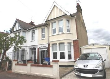 Thumbnail 3 bedroom semi-detached house for sale in Swanage Road, Southend-On-Sea