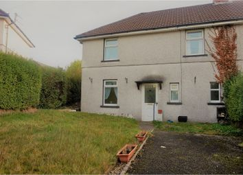 Thumbnail 3 bed semi-detached house for sale in Wellington Road, Pontypool