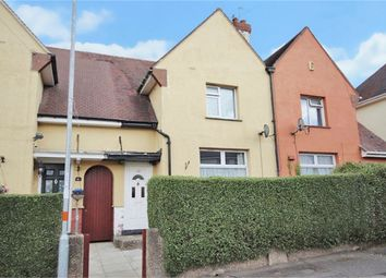 Thumbnail 2 bed terraced house for sale in Kenmuir Crescent, Kingsley, Northampton