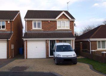Thumbnail 3 bed detached house for sale in Ashwood Close, Cramlington
