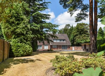 Thumbnail 4 bed detached house for sale in East Road, St. Georges Hill, Weybridge