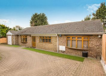Thumbnail 3 bed detached bungalow for sale in Grove Road, Thrapston, Kettering
