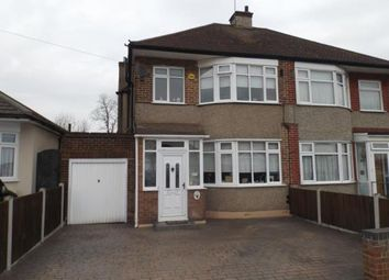 Thumbnail 3 bedroom semi-detached house for sale in Newbury Gardens, Upminster