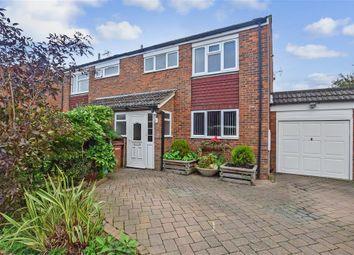 Thumbnail 3 bed semi-detached house for sale in Bullion Close, Paddock Wood, Tonbridge, Kent