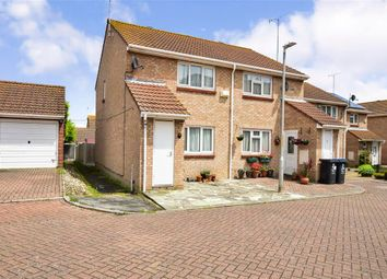 Thumbnail 2 bed semi-detached house for sale in Waltham Close, Margate, Kent