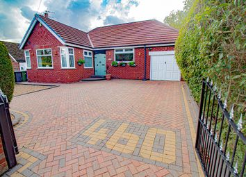 Thumbnail 3 bed detached bungalow for sale in Stockport Road, Denton, Manchester