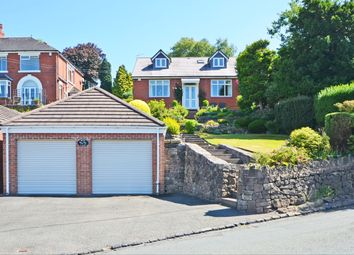 Thumbnail 4 bed detached bungalow for sale in Bagnall Road, Light Oaks, Stoke-On-Trent