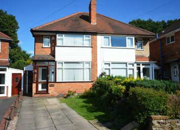 Thumbnail 3 bed semi-detached house for sale in Orchard Avenue, Solihull