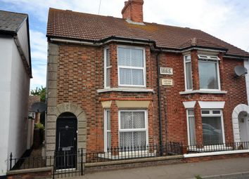 Thumbnail 3 bed semi-detached house for sale in Station Road, Lydd, Romney Marsh, Kent