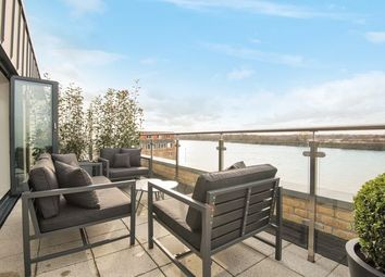 Thumbnail 3 bed terraced house to rent in Oxbridge Terrace Palace Wharf, Rainville Road, London