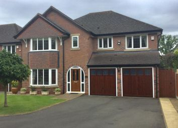 Thumbnail 5 bed detached house for sale in Fox Hollies Road, Sutton Coldfield