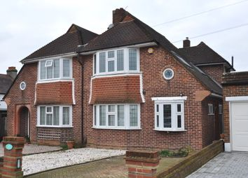 Thumbnail 3 bed semi-detached house for sale in Christian Fields, Norbury, London