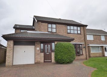 Thumbnail 4 bed detached house for sale in Hillcrest Drive, Burton-Upon-Stather, Scunthorpe