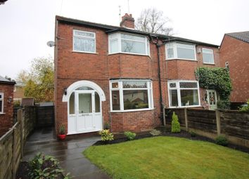 Thumbnail 3 bed semi-detached house for sale in Ambleside Road, Flixton, Urmston, Manchester
