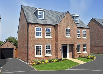 "Thumbnail 5 bed detached house for sale in ""Lichfield"" at Stevens Court, Wellingborough Road, Earls Barton, Northampton"