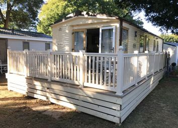 Thumbnail 2 bed mobile/park home for sale in Sandhills Holiday Village, Mudeford, Christchurch