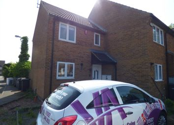 Thumbnail 2 bed end terrace house to rent in Lucas Gardens, Luton