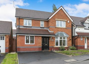 Thumbnail 4 bed detached house for sale in Tiverton Drive, West Bromwich, West Midlands