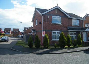 Thumbnail 2 bed semi-detached house for sale in Kestrel Drive, Crewe, Cheshire