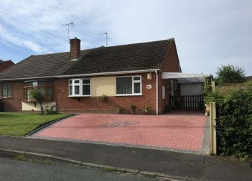 Thumbnail 2 bed semi-detached bungalow for sale in Haling Close, Penkridge, Stafford