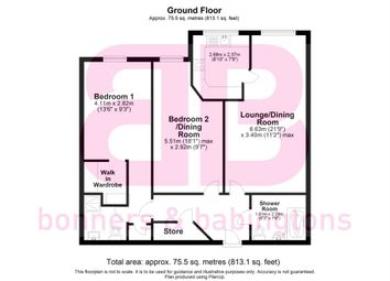 2 bed flat for sale in Longwick Road, Princes Risborough HP27