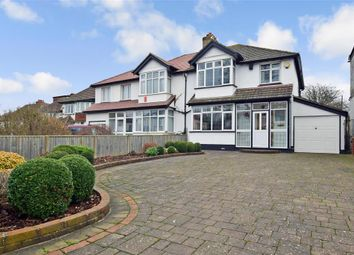 Thumbnail 3 bed semi-detached house for sale in Redford Avenue, Wallington, Surrey