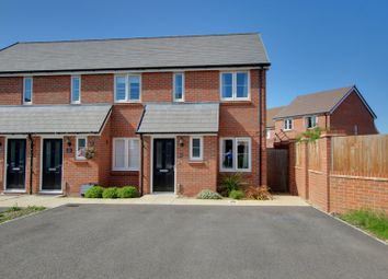 Thumbnail 2 bed end terrace house for sale in Peony Grove, Worthing, West Sussex