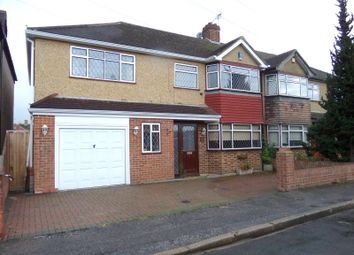 Thumbnail 3 bed semi-detached house to rent in Edward Way, Ashford