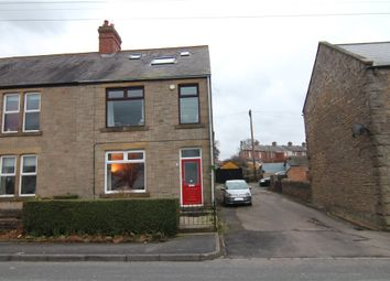 Thumbnail 3 bed end terrace house for sale in Rothley Terrace, Consett, Durham