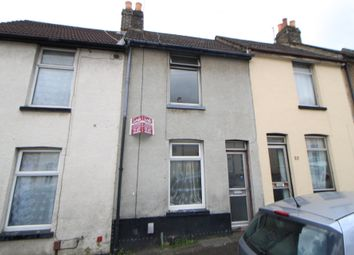 Thumbnail 1 bed terraced house to rent in Castle Road, Chatham