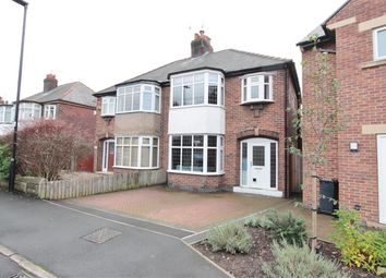 Thumbnail 3 bed semi-detached house for sale in Huntingdon Crescent, Sheffield