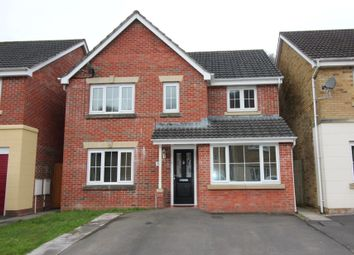 Thumbnail 4 bed detached house for sale in Coed Celynen Drive, Abercarn, Newport