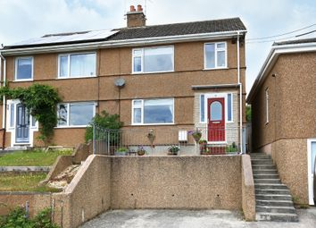 Thumbnail 3 bed semi-detached house for sale in Wembury Road, Elburton, Plymouth
