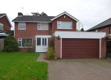 Thumbnail 4 bedroom detached house to rent in Lynwood Drive, Blakedown, Kidderminster