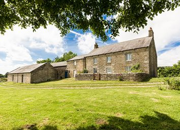 Thumbnail 4 bed farmhouse for sale in East Stonefolds, Simonburn, Hexham, Northumberland