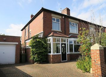 Thumbnail 4 bed semi-detached house for sale in Armstrong Avenue, South Shields