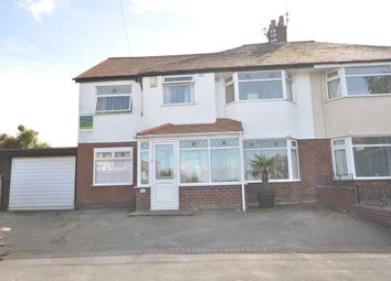 Thumbnail 4 bed semi-detached house for sale in Pine View Drive, Heswall, Wirral