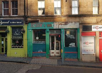 Thumbnail Retail premises for sale in Holyrood Road, Edinburgh