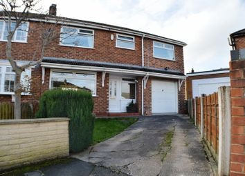 Thumbnail 4 bed semi-detached house for sale in Warren Close, Denton, Manchester